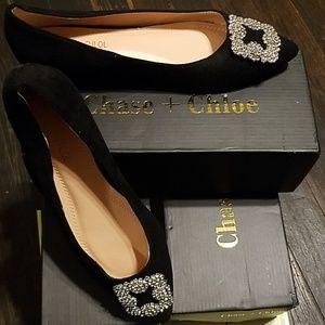 Never worn!! Beautiful flats in box!
